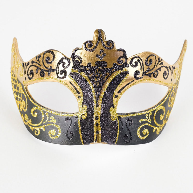 Red And Silver Stella Colombina Venetian Masquerade Mask