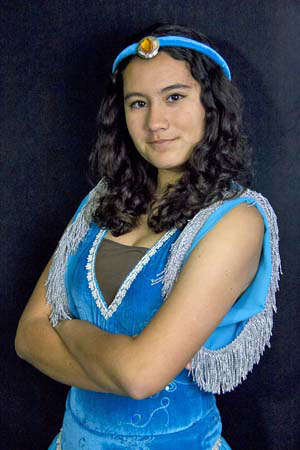 Princess Jasmine. About the Costume  sc 1 st  Mardi Gras Costume Shop & Aladdin Jr | Theater Costume Rentals
