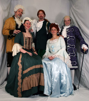 1776 Costume Rental Wig 77