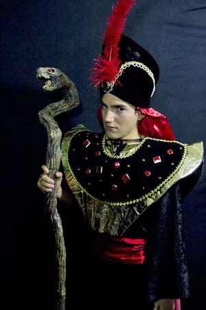 Jafar. About the Costume  sc 1 st  Mardi Gras Costume Shop & Aladdin Jr | Theater Costume Rentals